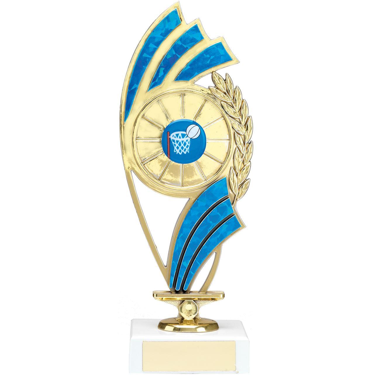 Blue Curve Figure Trophy - 1223C