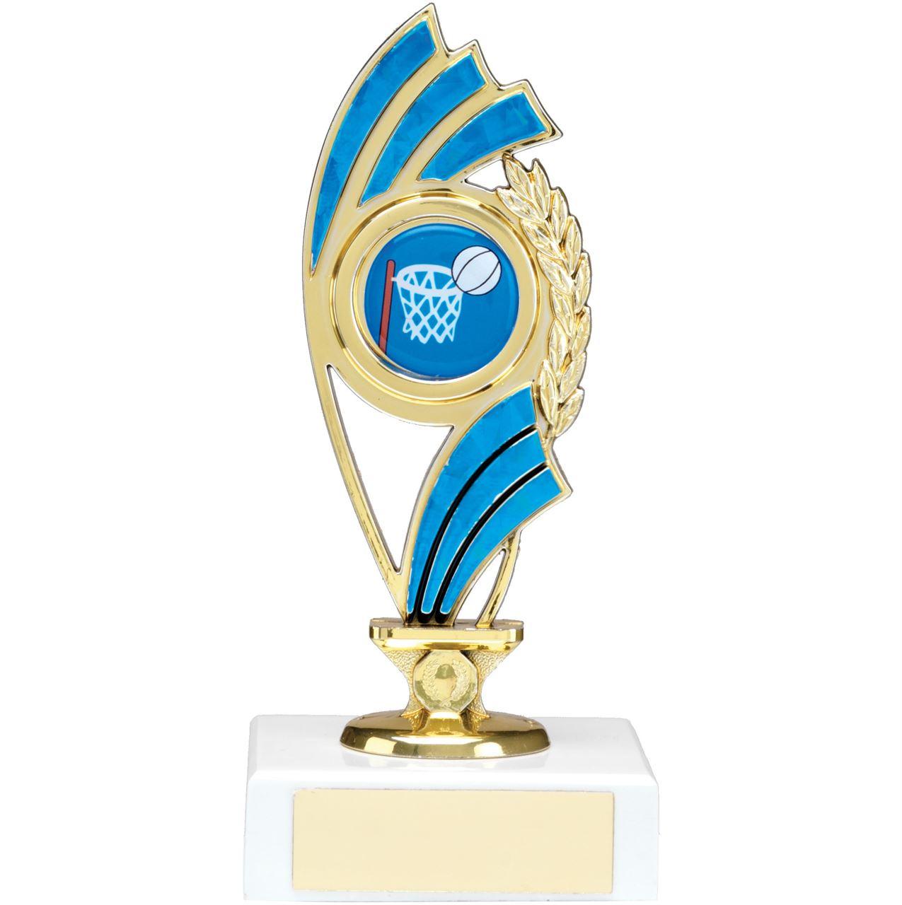 Blue Curve Figure Trophy - 1223A