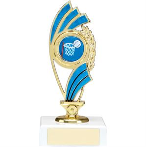Blue Curve Figure Trophy - 1223A