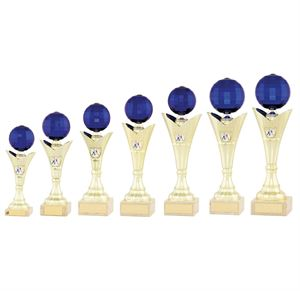 Blue Disco Ball Trophy - 2089