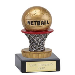 Classic Netball Flexx Trophy -137A.FX059