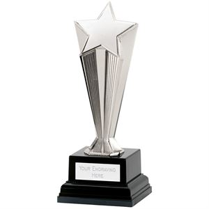 Recognition Award Star Silver Trophy - C51X-02