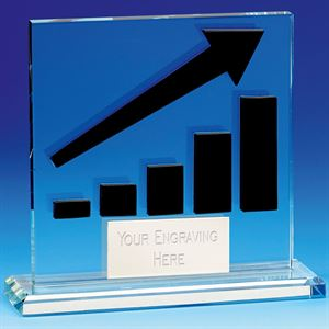 On Target Glass Award - KK304