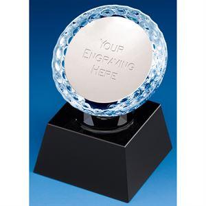 St Porth Glass Golf Ball Paperweight - KM022