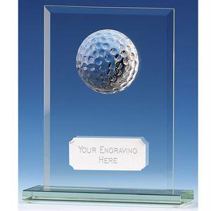 Golf Honour Jade Glass Award - JG001