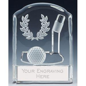 Precision Golf Putter Glass Award - KK293