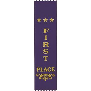 Recognition Place Ribbon Bookmark - RO8150 First