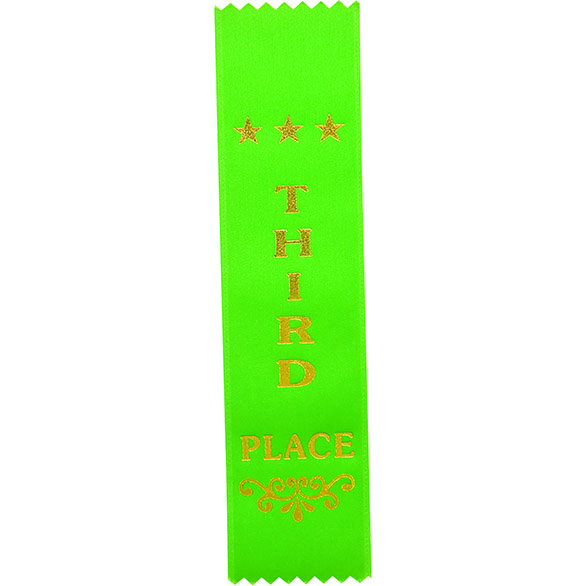 Recognition Place Ribbon Bookmark - RO8152 Third