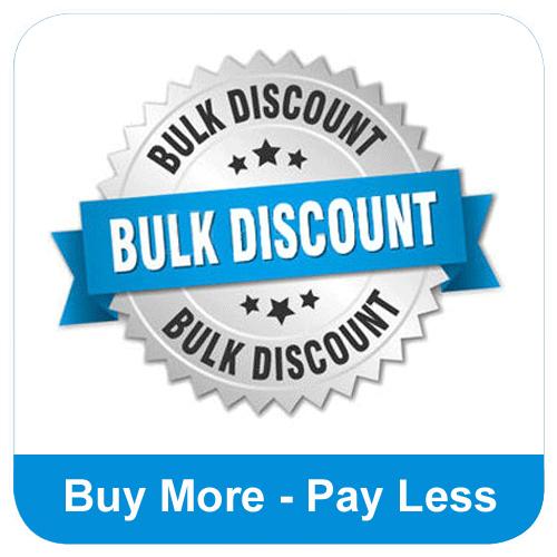 Bulk Buy Discount - Buy more, pay less