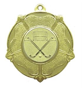Gold Economy English Rose Medal (size: 50mm) - 7005