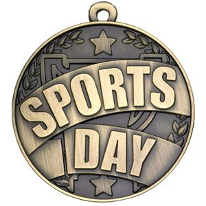 Gold Sports Day Medal - G860
