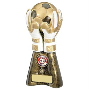 Goalkeeper Gloves Football Trophy - RF022