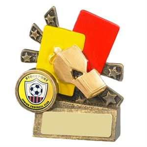 XBlast Football Referee Cards and Whistle Award - RF017B