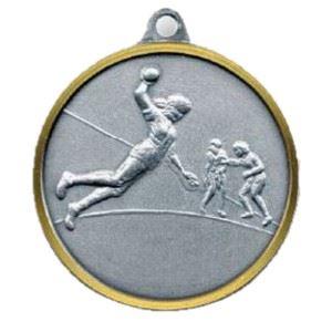 Bulk Purchase - Handball Players Brass Medal - 227