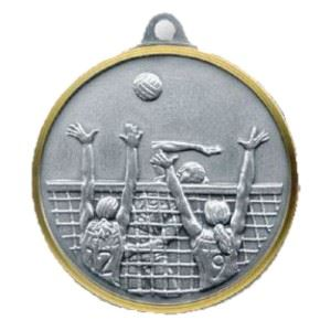 Bulk Purchase - Female Volleyball Brass Medal - 221