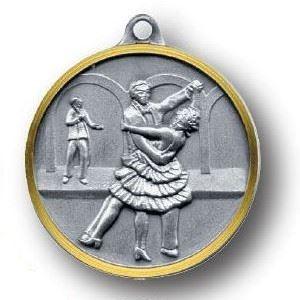 Bulk Purchase - Ballroom Dancing Brass Medal - 360
