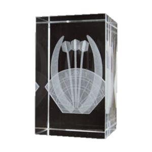 Bulk Purchase - 3D Glass Darts Award Small - GC3