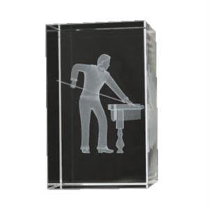 Bulk Purchase - 3D Glass Pool / Snooker Award - GC8