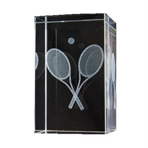 Bulk Purchase - 3D Glass Tennis Award - GC20