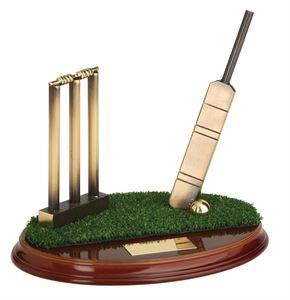 Cricket Handmade Metal Trophy - 393