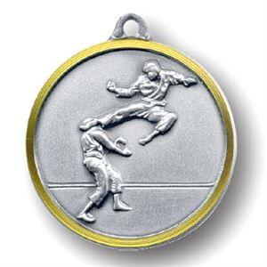 Bulk Purchase -  Karate Brass Medal - 252