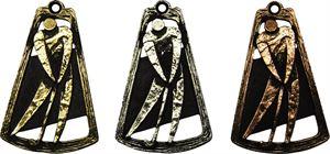 Cone Frame Golf Medal - MTL751