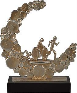 Pebble Crescent Triathlon Trophy - BEL775-029