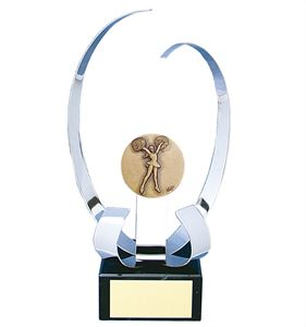 Cheerleading Mystique Handmade Metal Trophy - CD20-142