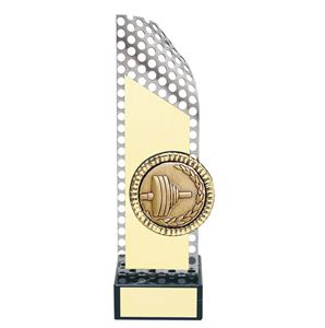 Weightlifting Handmade Metal Trophy - CD57-264