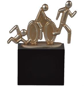 Gold Triathlon Pewter Trophy - BEL029