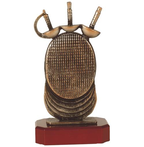 Fencing Pewter Trophy - BEL180