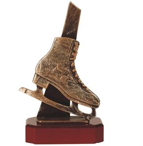 Ice Skating Boot Trophy - BEL224