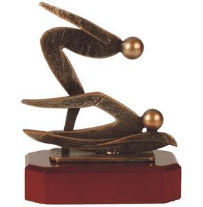 Swimming Pewter Trophy - BEL206