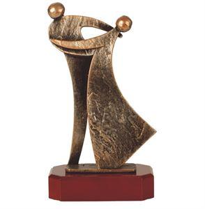 Ballroom Dancing Pewter Trophy - BEL239