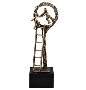 Ladder to Success Pewter Trophy - TRL719
