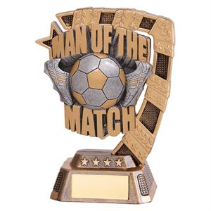 Euphoria Man of the Match Football Trophy Small - RF18142A