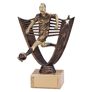 Cosmic Striker Football Female Trophy - TR19571