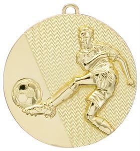Gold Footballer Medal - G505