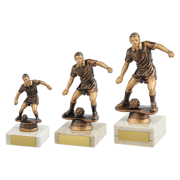 Dominion Football Trophy Antique Bronze - TR19578 3 sizes