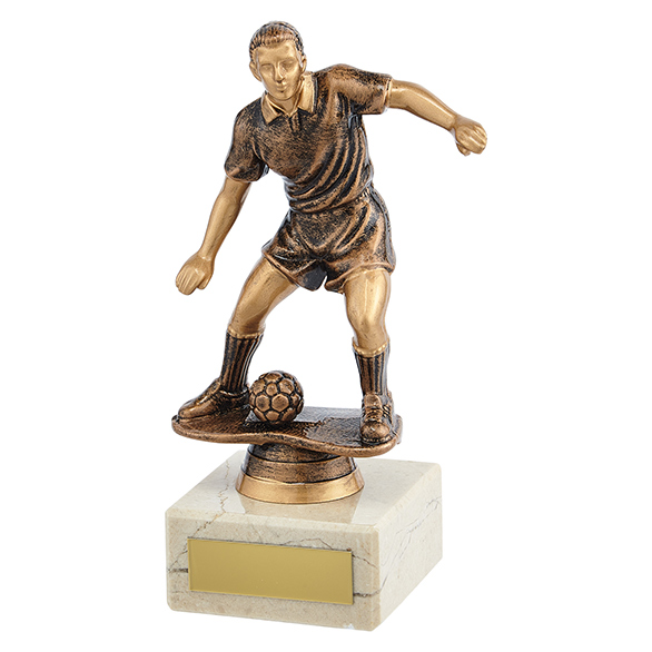 Dominion Football Trophy Antique Bronze - TR19578
