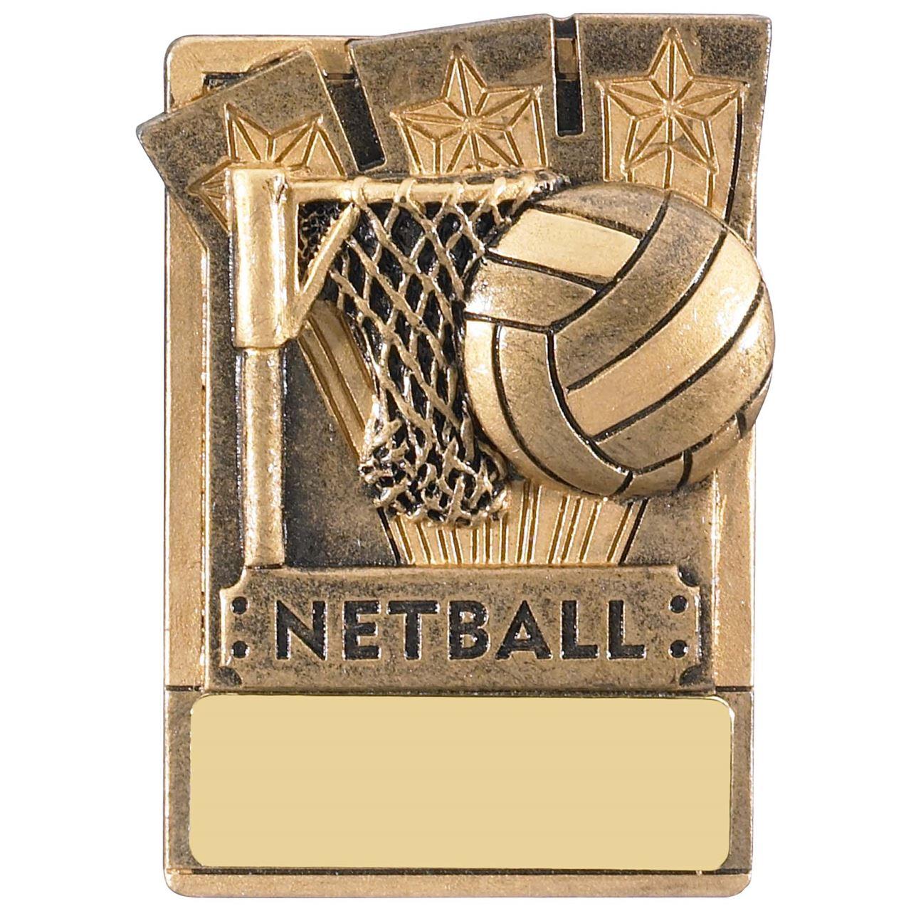 Mini Magnetic Netball Award - RK043