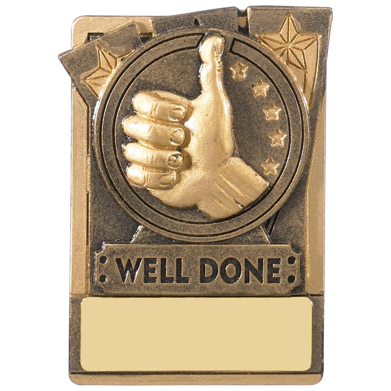 Mini Magnetic Well Done Award - RK029