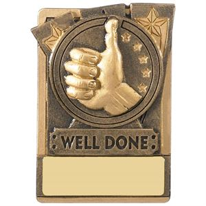 Mini Magnetic Well Done Award - RK029
