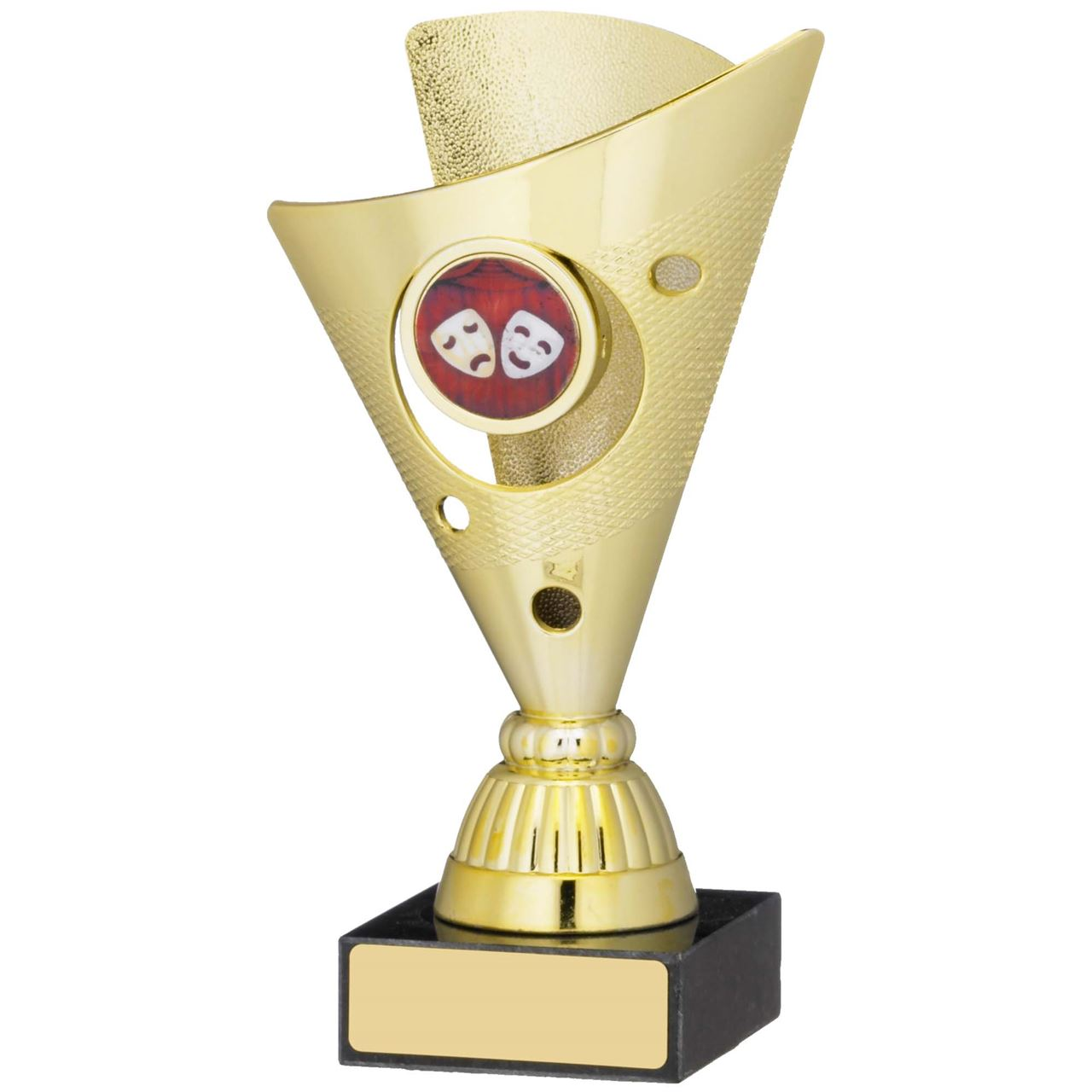 Gold Flare Cup Trophy - A0851A