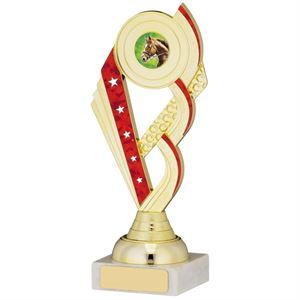 Multi-Sport Gold & Red Trophy - A0934