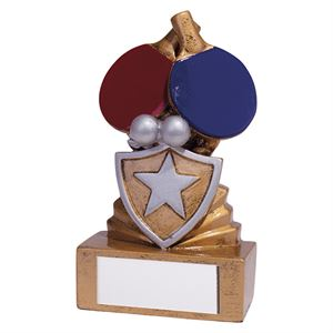 Shield Mini Table Tennis Award - RF19105