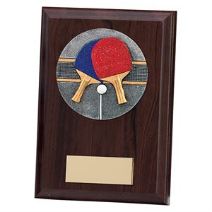 Phoenix Table Tennis Plaque - PL19537