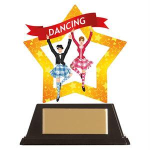 Mini-Star Highland Dance Acrylic Plaque - AC19646