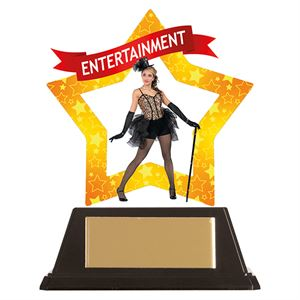 Mini-Star Entertainment Acrylic Plaque- AC19656