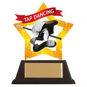 Mini-Star Tap Dancing Acrylic Plaque